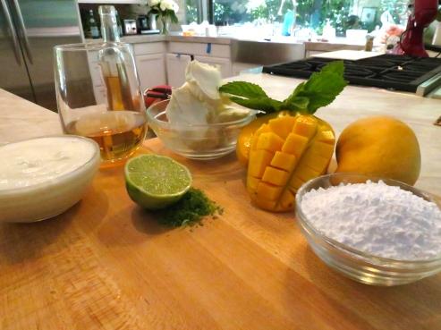 Mango Mascarpone Tart Filling